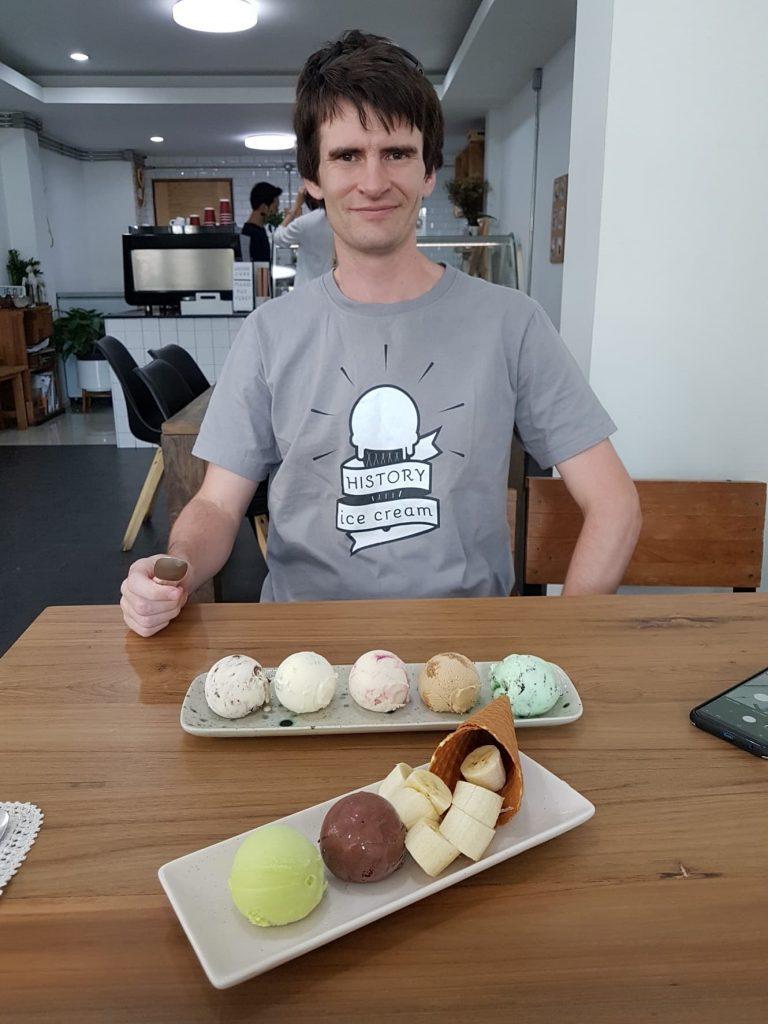 Nick Morris History Ice Cream
